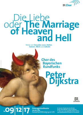 Plakat Die Liebe oder The Marriage of Heaven and Hell